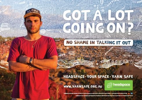 Aboriginal and Torres Strait Islander mental health and wellbeing info and support YARN SAFE - Got a lot going on? no shame talking about it. @headspace.aus #Indigenous #health #mentalHealth