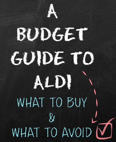 What to buy in Aldi and more importantly - what not to buy in Aldi. The comments on this post are SO useful. A real must read.