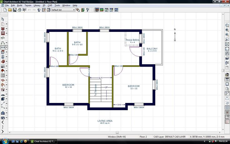 Vastu layout for east facing house