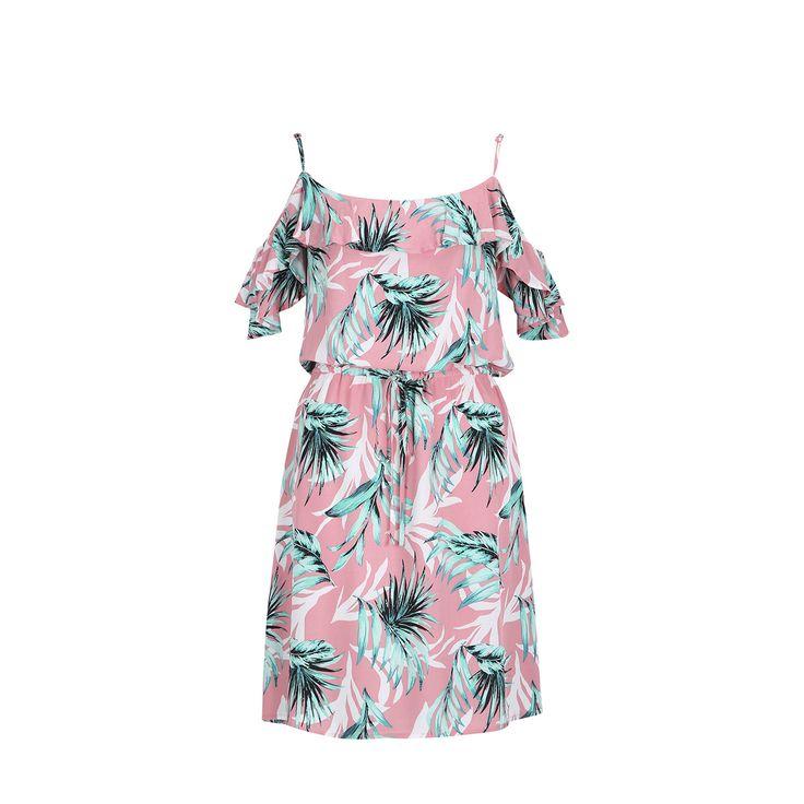 Strappy Off-Shoulder Dress   Kmart
