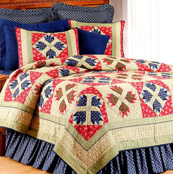 Describe your pinRustic Bear Claw Quilt Sets love bear paw patterns