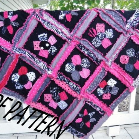 Rag Quilt Pattern For Beginners : 1000+ images about quilts on Pinterest Around the worlds, Quilt making and Quilt