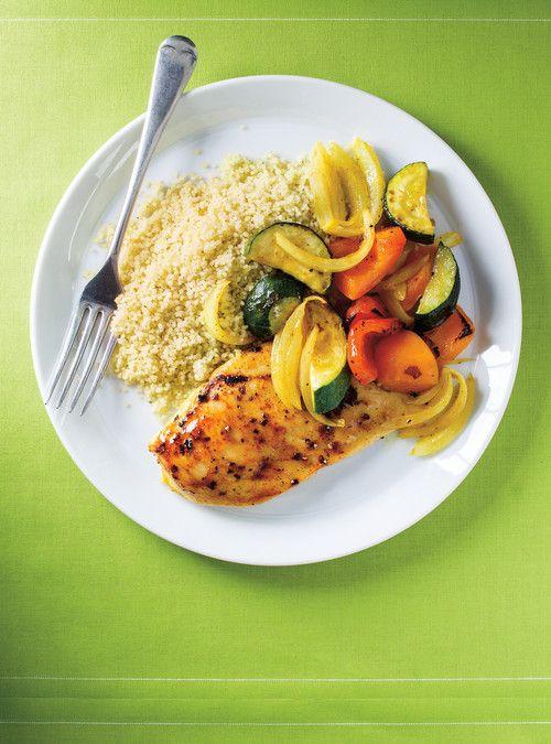 Poulet et légumes au cari 30 minutes Recettes | Ricardo