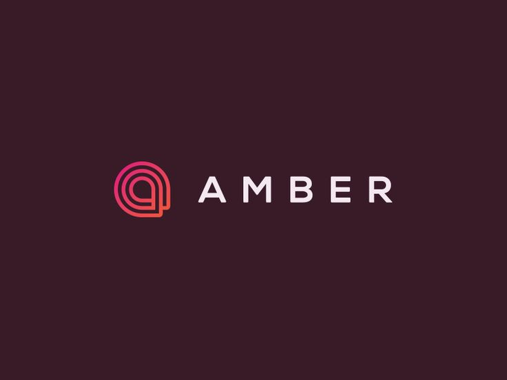 Here is the final Amber logo. The client really liked both logos that much they wanted to combine the type from logo A and the mark from logo B.  Thank you to all who helped in the decision making ...
