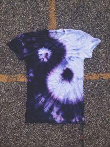 yin yang tie dye
