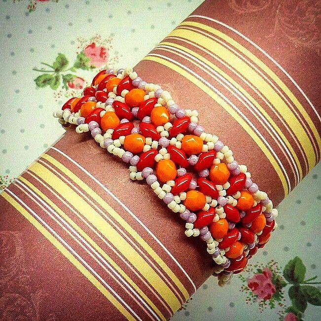 Beaded bracelet #jaumanna #Beaded #beading #beads #embroidery #colorful #hippie #boho #bohemian #buy #forsale #fashion #shopping #tutorials #tutorial #creative #craft #design #designer #bracelet #bracelets #pendant #pendants #earrings #bookmark #bookmarks #brooch #brooches