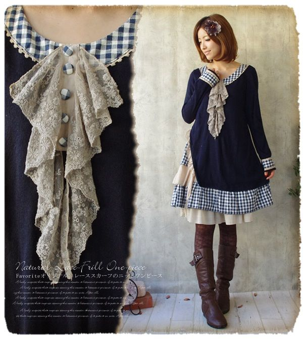 Aliexpress.com : Buy Mori Girl Cawaii Style Winter Vintage Loose ...