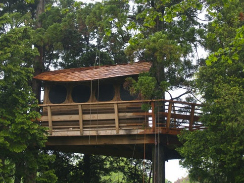 Jem Treehouse  Long Island, NY: Romero Treehouse, Tiny Architecture, Jem Treehouse, Tiny Houses, Trees Houses Design, Trees Living, J Ems Treehouse, Treehouse Projects, Treehouse Ideas