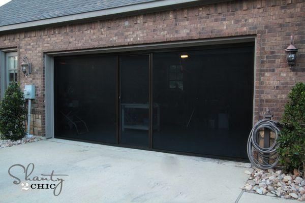 Best 25 Garage Door Screens Ideas On Pinterest Roll Up