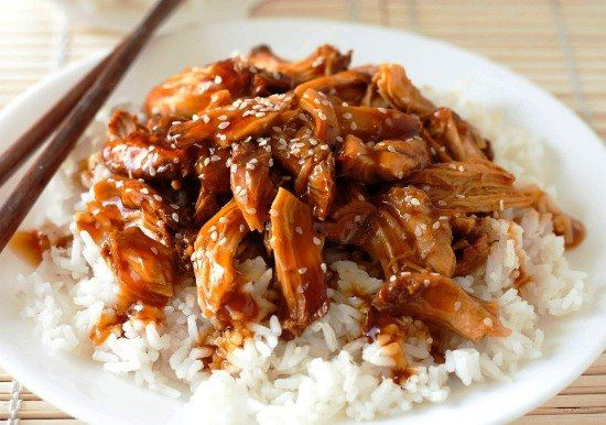 Chicken in tariyaki sause