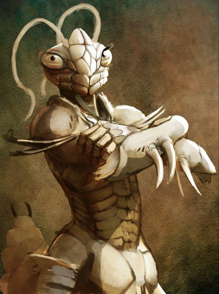 Mantis+Warrior+2+by+hattonslayden.deviantart.com+on+ ...