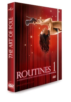 "Jamilla DeVill's Routines: Routines One is Jamilla Deville's comprehensive introduction to routines as part of her world-renowned series, ""The Art of Pole"". #jamilladevilleroutines #artofpoleroutines"