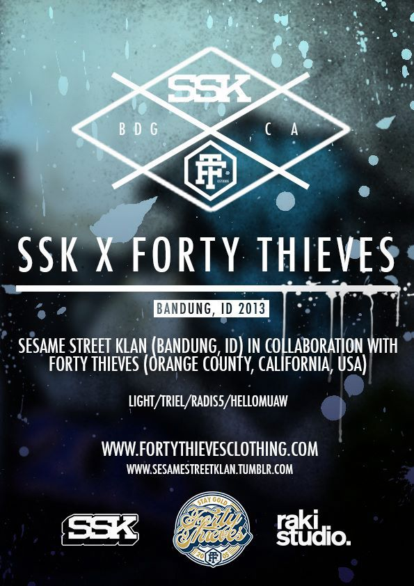 SSK X Forty Thieves Clothing 2013 on Behance
