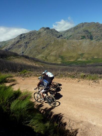 Stellenbosch mountain biking, South Africa