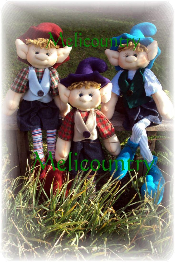 Muñecos Soft Country Duende De Tela 75cm Único En El Sitio - $ 380,00 en MercadoLibre
