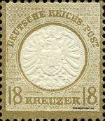 18 Kreuzer - Michel Nr. 28 - Stamp Values: * 50€ / Ø 3,000€