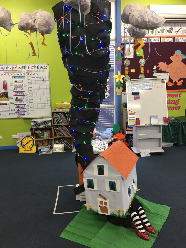 Our Wizard of Oz display