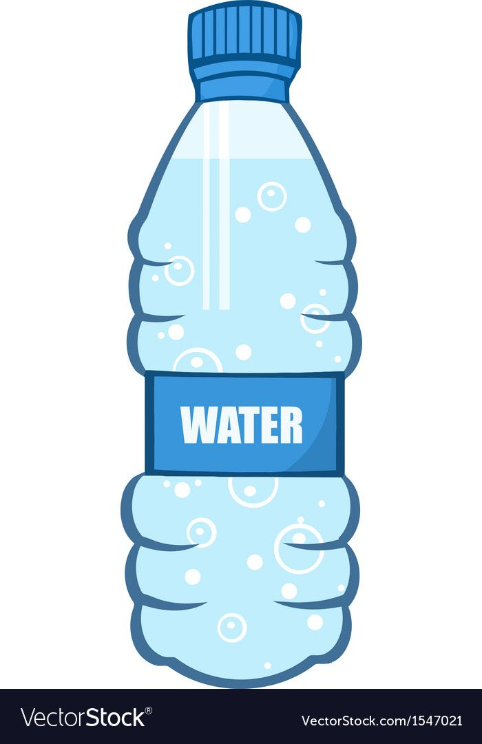 Water Bottle Download A Free Preview Or High Quality Adobe Illustrator Ai Eps Pdf And High Resolution Jpeg Versions Bottle Water Bottle Water
