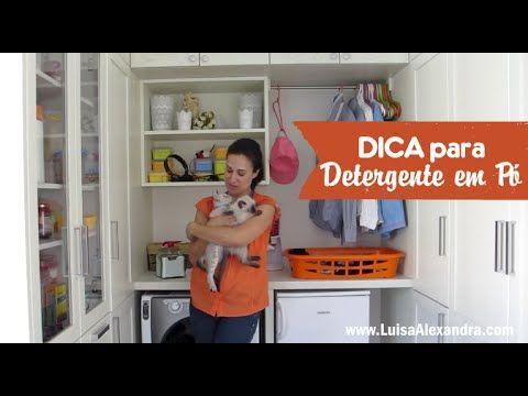 Luisa Alexandra: Dica para Detergente em Pó • VÍDEO [com uns participantes muito especiais...]