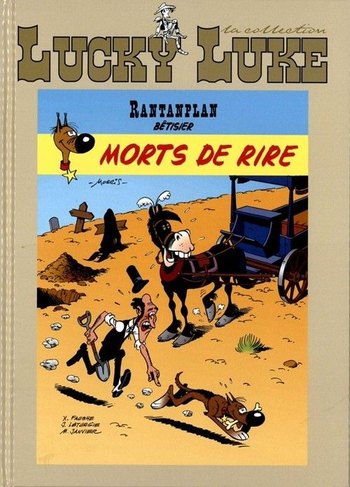 Lucky Luke - La collection (Hachette) -93- Rantanplan - Morts de rire (Bêtisier)