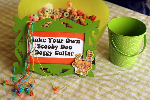 """My favorite ideas!!!!!  Photo 3 of 66: Scooby Doo / Birthday """"Jinkies! A 5th Birthday!"""" 