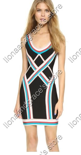 Find More Dresses Information about Free shipping vestidos Must Have sexy stripes womens bandage dress summer style dress celebrity dress dress wholesale,High Quality dress up games dress,China dress egg Suppliers, Cheap dresses beach from Ilonaandgrace'  store on Aliexpress.com