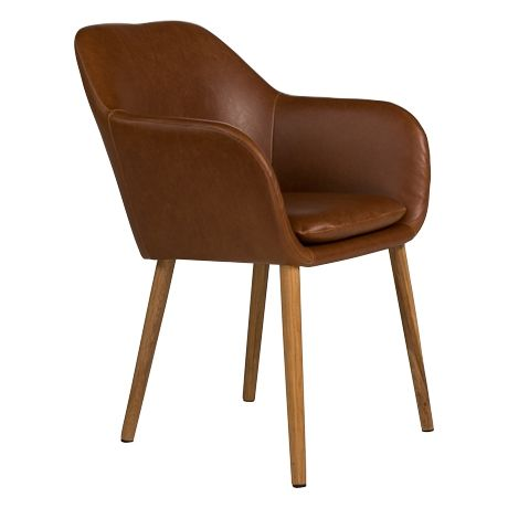 Inspired By The Classic Carver Design, The Inviting Round Bucket Style Seat  Has Been Fully Upholstered