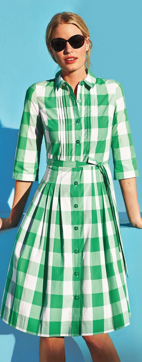 checks. BODEN USA. So inexpensive but great for a casual look.