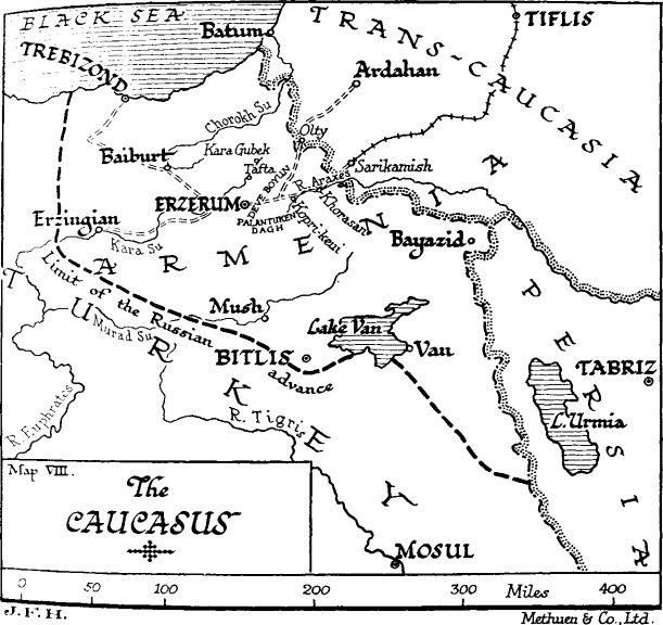 Continua l'avanzata russa nel Caucaso