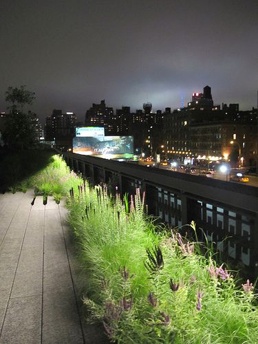 High Line Park, NYC. Been there - loved it!