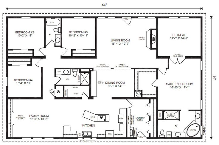 The MULBERRY - Modular Home Floor Plan | Jacobsen Homes. This is probably the most perfect layout I have ever seen!