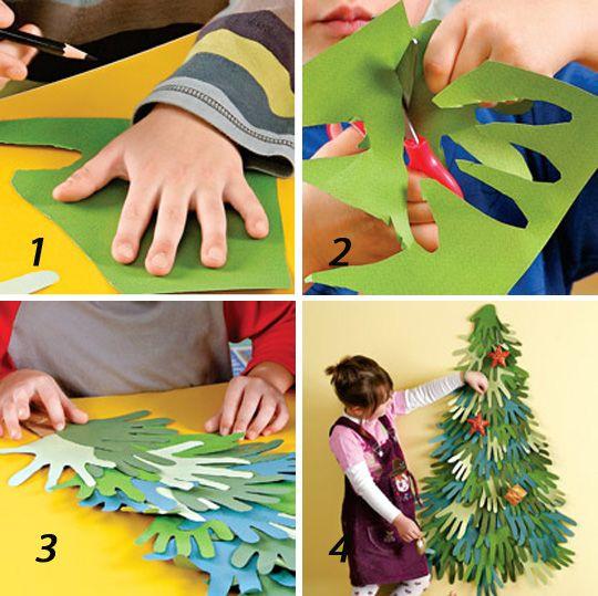 Совместное  творчество  с  детьми:  новогодние  поделки: