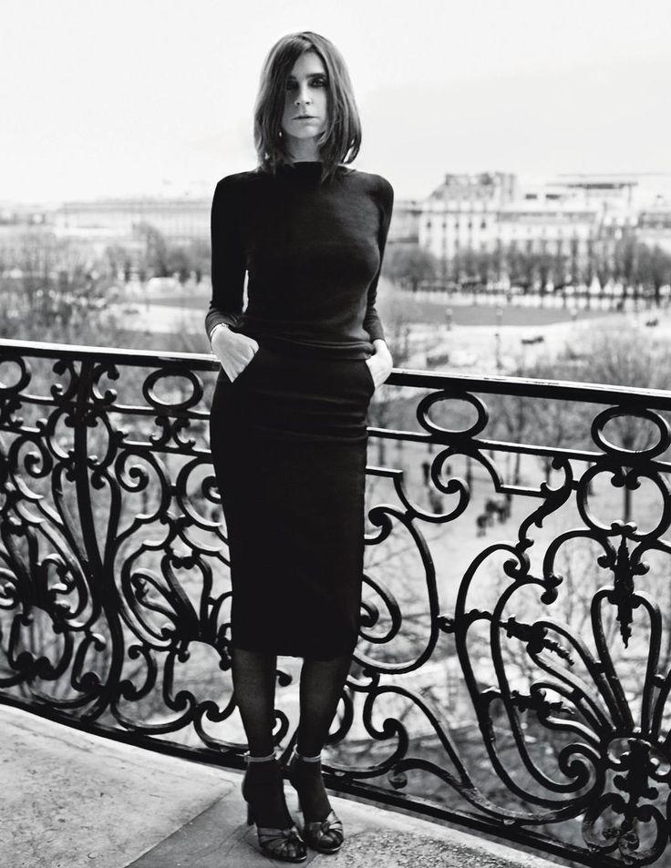 Carine Roitfeld par Caroline de Maigret   Le Figaro Madame
