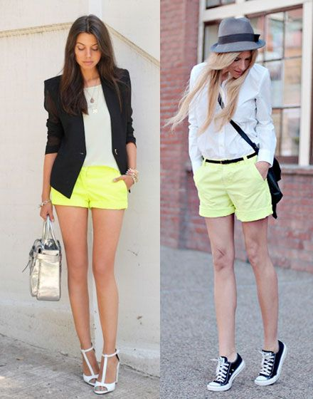 5 Under $50: Neon Shorts - The Budget Babe
