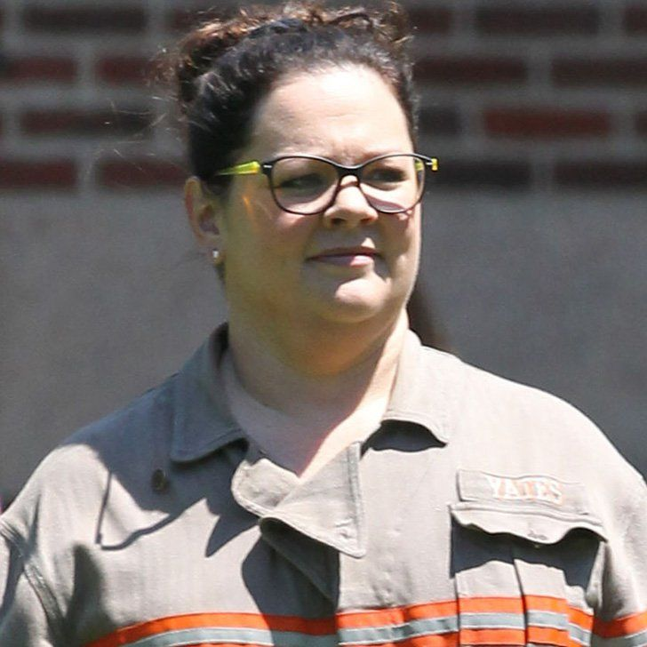 See Melissa McCarthy Decked Out in the Ghostbusters Uniform on the Set!