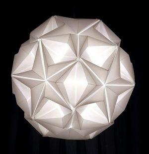 star origami lamp by LittleJo