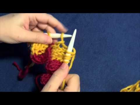 Entrelac Pattern - Free Knit Tutorial | Craft Passion