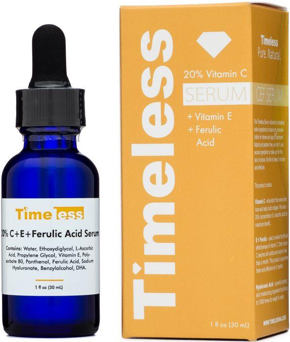 20% Vitamin C + E Ferulic Acid Serum 1 oz - Timeless Skin Care ($24.95!!! 3 month oxidation guarantee!!!)