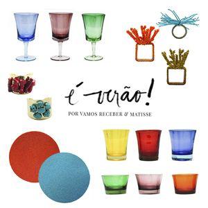 Para o verão, mesas ao ar livre e muita descontração.E o colorido, em tons fortes e bem vivos, traduz muito bem toda essa ...