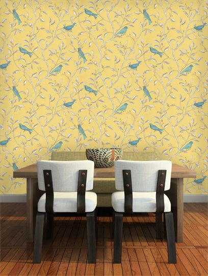 23 best wallpaper images on Pinterest | Fabric wall coverings ...