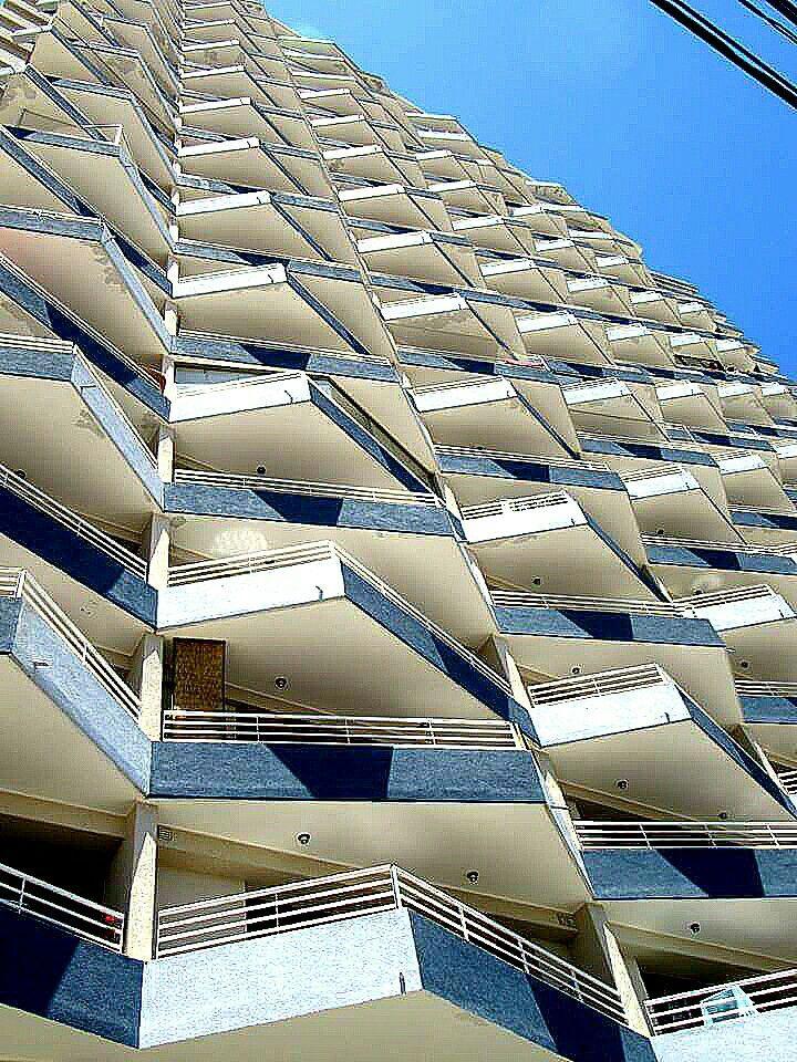 Fachada de edificio de Valparaíso.