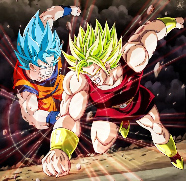 Kale vs Goku SSGSS CH100 Dragon Ball Super by SenniN-GL-54.deviantart.com on @DeviantArt - More at https://pinterest.com/supergirlsart #fanart #dbs