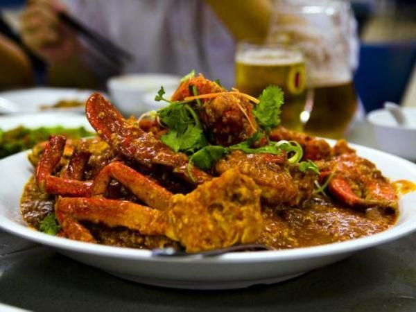Try Singapore's unofficial 'national dish' in these top spots. Red House is the most recommended one. East Coast Seafood Centre, East Cost Parkway
