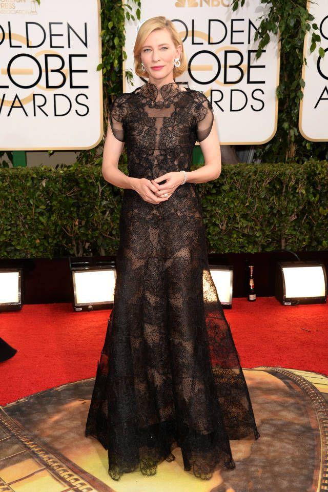 Golden Globes Fashion 2014 - Golden Globes Best Dressed Celebrities - Harper's BAZAAR