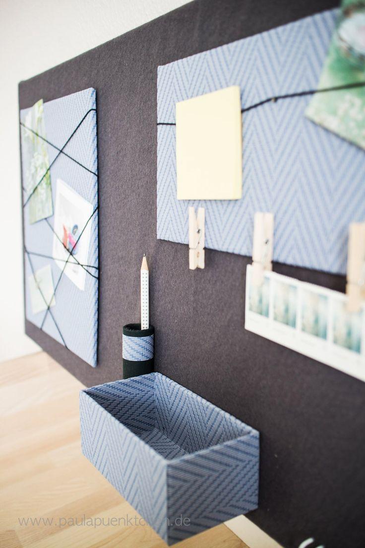 die besten 25 memoboard selber machen ideen auf pinterest diy pinnwand memoboard und diy. Black Bedroom Furniture Sets. Home Design Ideas