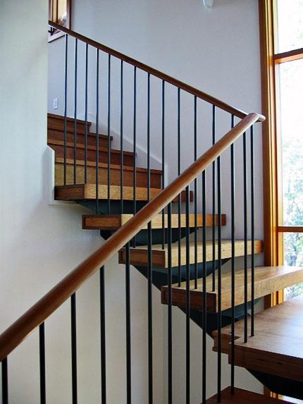 steel railing by Mark Macek