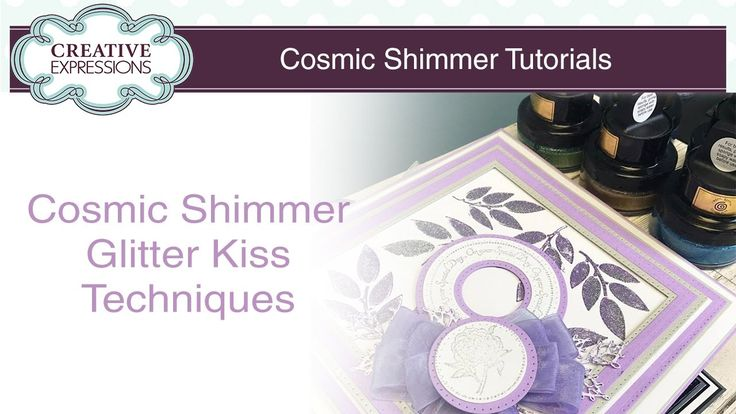 We hosted a Facebook LIVE video over on our page to answer all your questions about the fabulous new Cosmic Shimmer Glitter Kiss. As our first video we had s...
