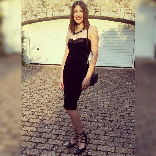 Black dress, always in trend... #armani#mango#blackdress