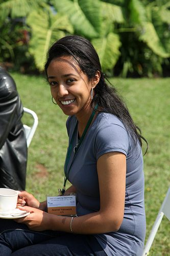 ABENET YABOWORK, from Ethiopia, oversees ILRI's DSpace repository in the communications and knowledge management group