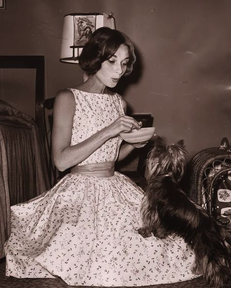 Audrey Hepburn, this is adorable!